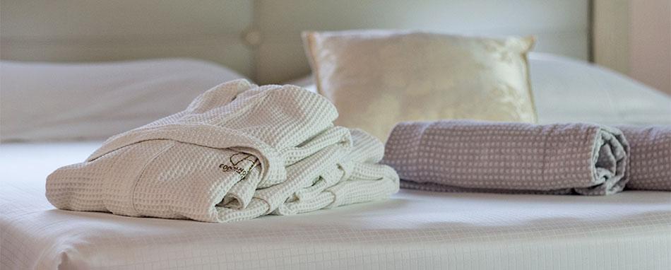 Noleggio biancheria da letto per Hotel e centri benessere