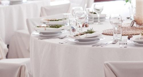 Noleggio di tovagliato e biancheria per ristoranti